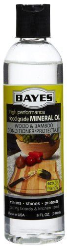 Price comparison product image Bayes Mineral Oil Wood Bamboo Protectant 8oz