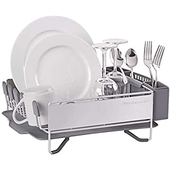Amazon Com Kitchenaid 3 Piece Dish Drying Rack Kitchen