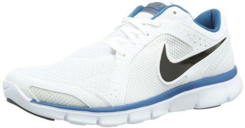 Nike WMN Free 5.0 TR FIT 4 PRT, Scarpe sportive, Donna Bianco (Weiß (White/Blue))