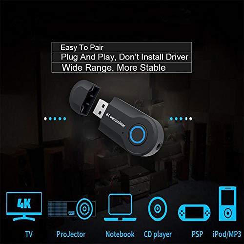 SHOPUS | Bluetooth Transmitter Wireless Transmitter V4 2 USB