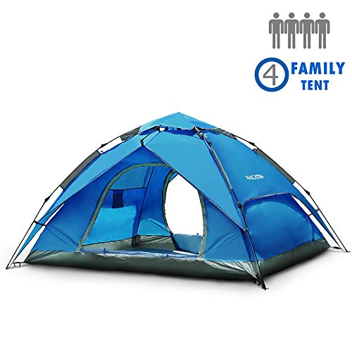 NACATIN 3-4 Person Family Camping Tent