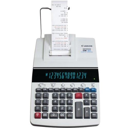 CANON 8708B001 MP49DII GB 14-Digit Desktop Printing Calculator (8708B001)
