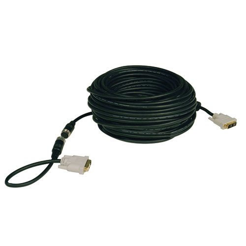 Tripp Lite DVI Single Link Digital TMDS Monitor Easy Pull Cable (DVI-D M/M) 50-ft.(P561-050-EZ)