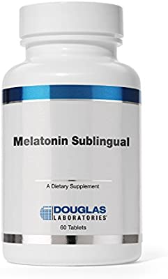 Amazon.com: Douglas Laboratories - Melatonin Sublingual - Supports Sleep/Wake Cycles* (3 mg) - 60 Tablets: Health & Personal Care