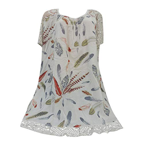 - YKARITIANNA Women Plus Size Criss Cross Double Chiffon Short Sleeve Chiffon Shirt Black