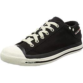 DIESEL Women's Magnete Exposure Low W Denim Top Sneakers