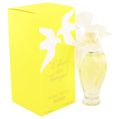 L'air Du Temps by Nina Ricci 1.7 oz Eau De Parfum Spray with Bird Cap for (Nina Ricci Les Belles De Ricci)