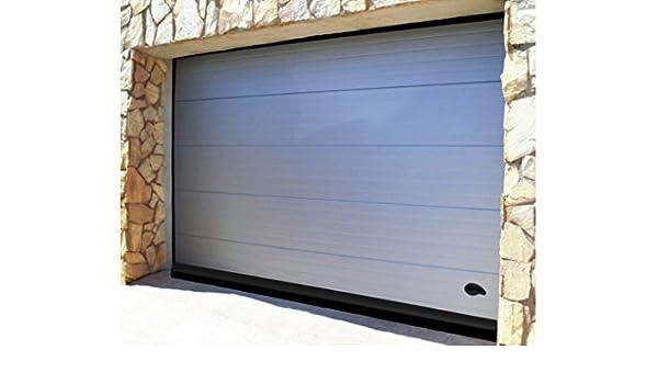Bresme Madrid - Burlete Garaje Aluminio Flecos 250Cm.Negro 127590: Amazon.es: Bricolaje y herramientas