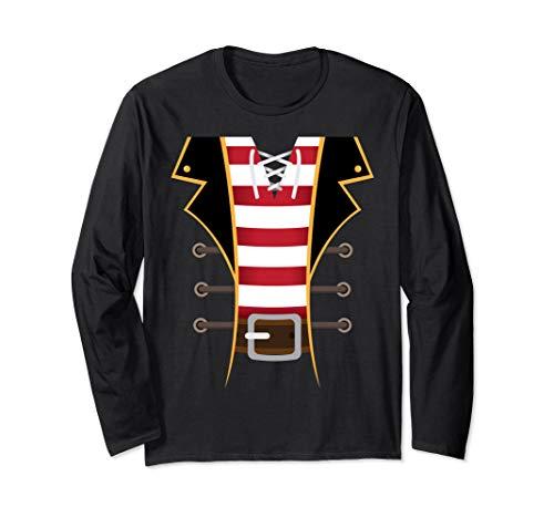Diy Pirate Costumes For Women (Pirate Buccaneer Novelty Diy Halloween Costume Man Gift  Long Sleeve)