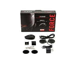 UCLEAR Digital HBC200 Force Bluetooth Helmet Audio System - Single Kit