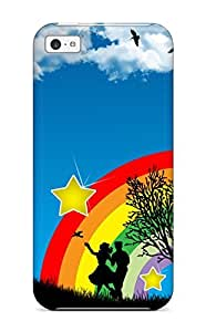 Durable Vector Art Back Case/cover For Iphone 5c