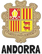 Andorra: Handy journal notebook diary with blank lined paper to write in