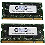 4Gb (2X2Gb) Memory Ram Compatible With Dell Latitude D630, D630C, D630 Xfr By CMS A39
