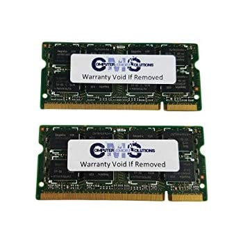 8Gb (2X4Gb) Memory Ram Compatible with Ibm Lenovo Thinkpad T61, T61P Ddr2  Pc5300 Sodimm By CMS B116
