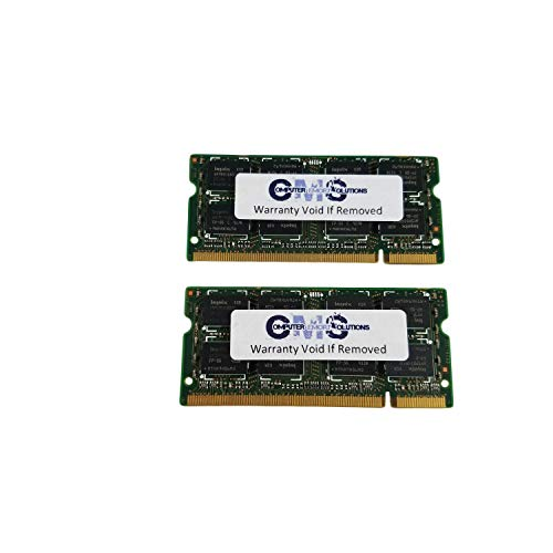 4Gb (2X2Gb) Memory Ram Compatible with Lenovo Thinkpad T60 2007, 2008, 2009-Xxx Series By CMS (A37)