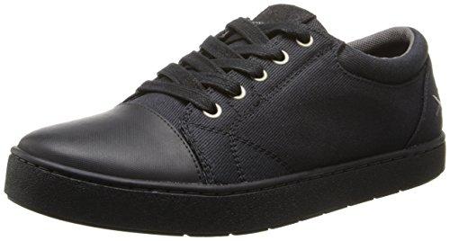 UPC 737045286099, MOZO Men's The Maverick Canvas Sneaker,Black,9 D US