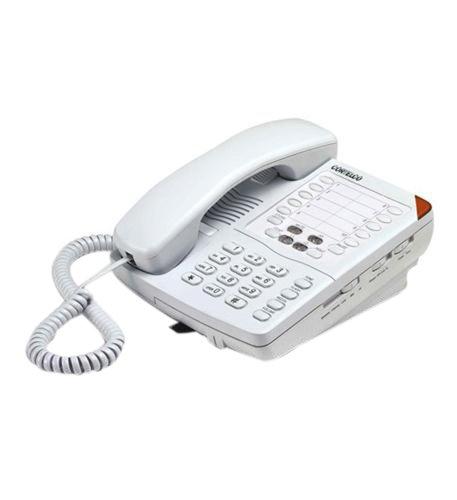 Hotel Speakerphone Line 2 (Cortelco 220521-Vba-27s Colleague 2 Line Telephone Frost)
