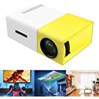 Mini Portable LED Projector with Laptop USB/SD/AV/HDMI Input for Video/Movie/Game/Home Theater
