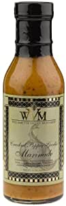 Willamette Valley Mustards And Marinades Cracked Pepper Marinade, 12-Ounce Bottle (Pack of 6)