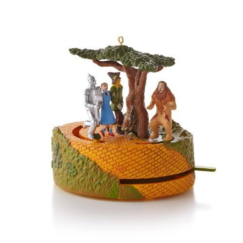 Hallmark Lions, Tigers and Bears Oh My! - The Wizard of Oz 2013 Ornament]()