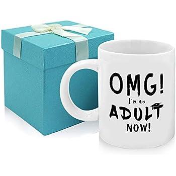 Amazon.com: MyCozyCups Divertidos regalos de cumpleaños 18 ...