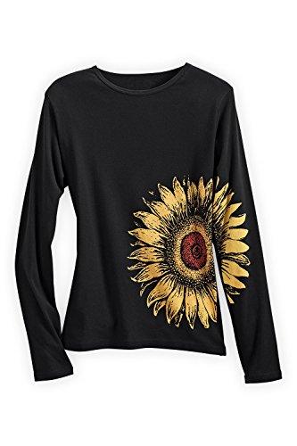 Green Apparel Sunflower USA made Organic