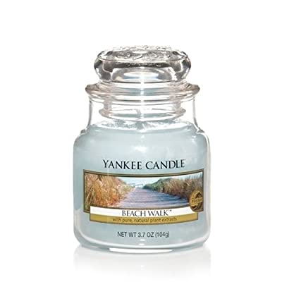 Yankee Candle Beach Walk Small Jar Candle, Fresh Scent