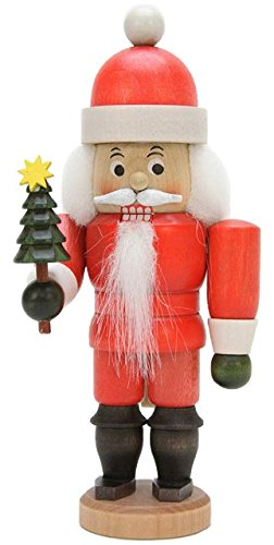 Nutcracker Santa Claus glazed - 17,5cm / 6.9inch