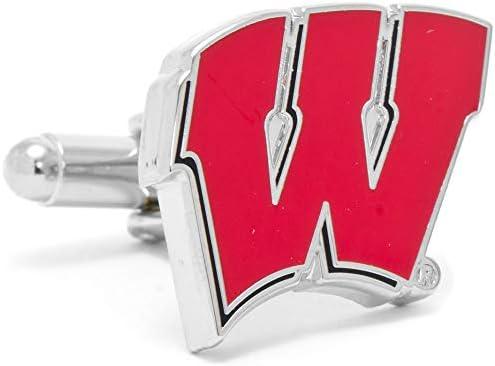 ウィスコンシン大学 ウィスコンシン バジャーズ カフスボタン pd-wisc-sl
