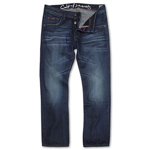 Cult of Individuality Hagen Straight Leg Jeans Barkley by Cult Of Individuality Denim