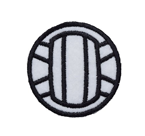 Wholesale Applique Large Volleyball Iron on Embroidered Patch ()