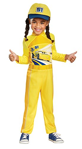 UHC Girl's Cruz Classic Outfit Cars 3 Movie Theme Child Halloween Fancy Costume, Child S (4-6X)