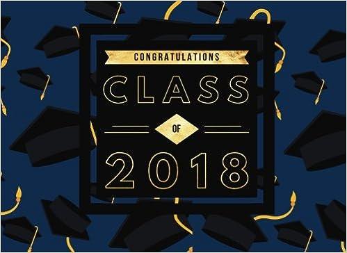 congratulations class of guest message keepsake scrapbook