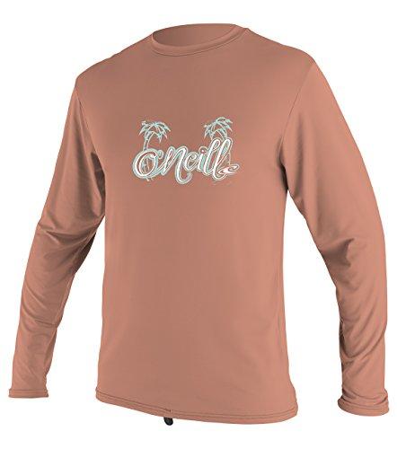 ium Skins UPF 50+ Long Sleeve Sun Shirt, Coral, 1 ()