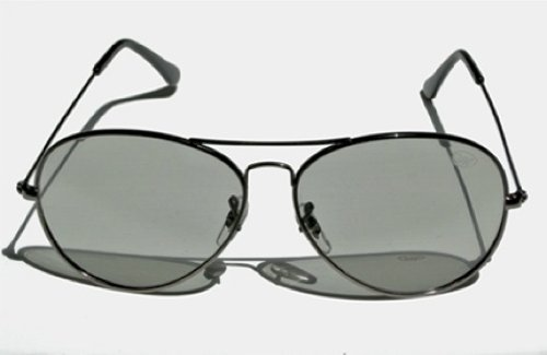 VWP 793573831644 The Visual World Aviator Stylish Universal 3D Passive Glasses work with passive 3D Televisions and 94% of all Movie Theaters in the United States, Black