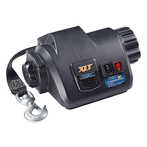 Fulton 500620 XLT Powered Winch with Wireless Remote-7,000 lbs. - Trailer Guides Fulton