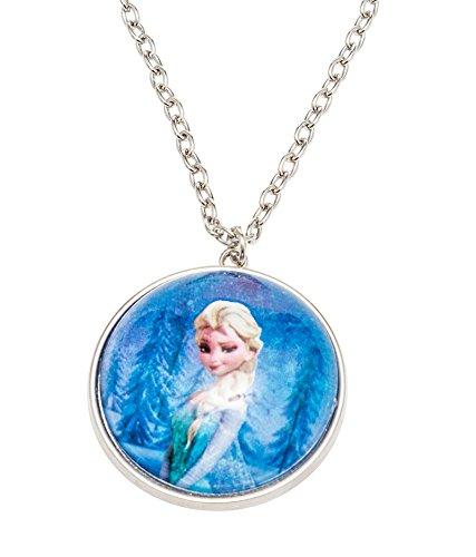 Disney Frozen Globe Necklace Printed