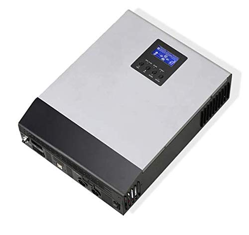 WccSolar Inversor Onda Pura Hibrido 1kva 12V Regulador Solar ...