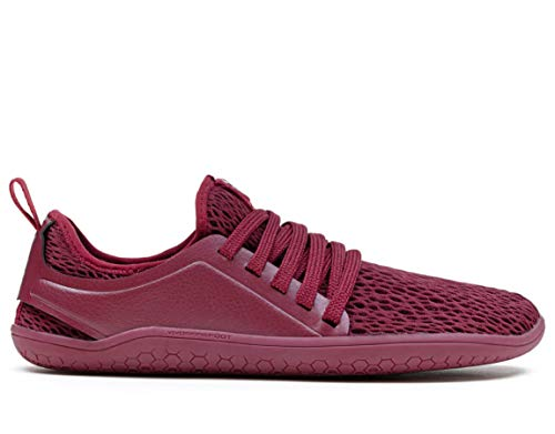 vivobarefoot Kanna, Womens Everyday Trainer, with Barefoot Sole Cordovan