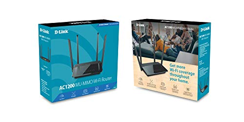 D-Link AC1200 Wireless WiFi Router – Smart Dual Band – Gigabit – MU-MIMO – High Power Antennas for Wide Coverage – Easy Setup – Parental Controls (DIR-842) by D-Link (Image #5)