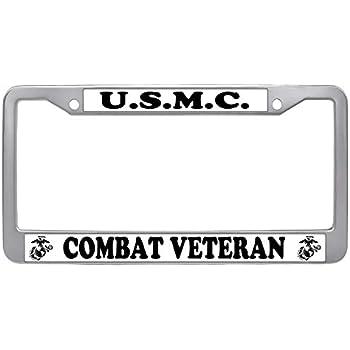 VETERAN US MARINE CORPS USMC License Plate Frame NEW