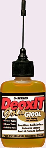 (DeoxIT® Gold 100% Contact Conditioner, Needle Applicator, 25ML- G100L-25C)