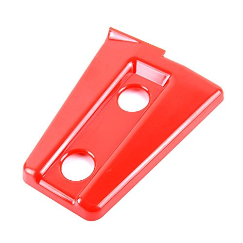 Bolaxin Red Jeep Wrangler JK Unlimited Door Hinge Covers