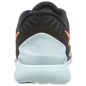 Nike Men's Q2 Free 5.0 Running Sneaker Shoes, Black
