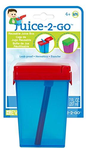 Evriholder Juice-2-Go Drinkware Set, Assorted