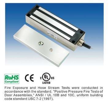 Z9V3 - WEATHERPROOF STAINLESS STEEL EXTERNAL MAGNETIC DOOR / GATE LOCK 1200LB N/A