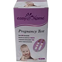 Easy@Home Pregnancy Test Strips, 20 Tests