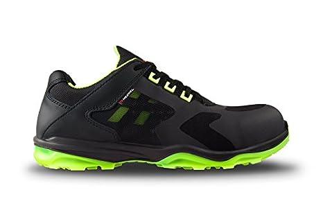 Heckel RUN-R ACE S1P Zapatillas de seguridad, sin metal, muy ligeras, varias tallas disponibles, color verde, talla 41: Amazon.es: Amazon.es