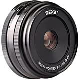 Meike 28mm f/2.8 Manual Focus Fixed Lens for Sony E Mount Digital Cameras ( NEX3, 3N, 5, 5T, 5R, 6, 7, A5000, A5100, A6000, A6100 and A6300 etc)
