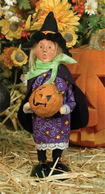 Byers Choice Witch (Byers Choice 2007 Small Halloween Witch Caroler)